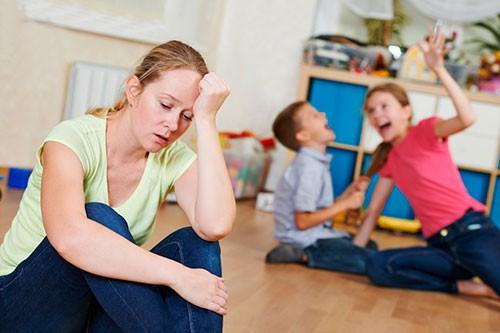 Родительская усталость: выгорание