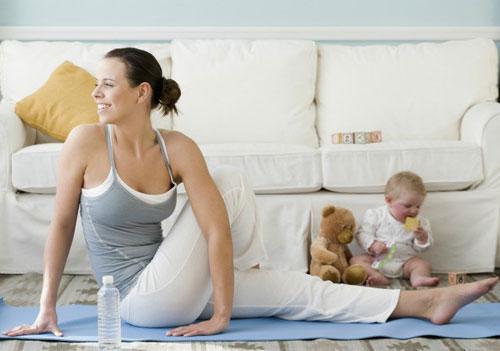 Как сбросить лишний вес после беременности?
