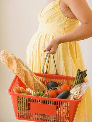 Вегетарианская пища в периоды беременности и кормления грудью