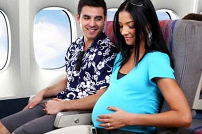 Беременность и авиаперелеты