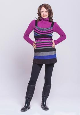 Стильная одежда: туники для беременных