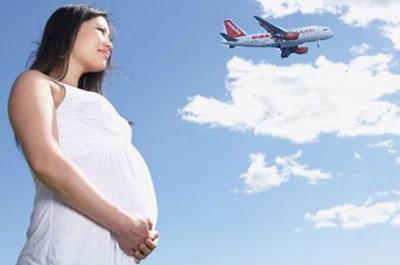 Авиаперелеты во время беременности