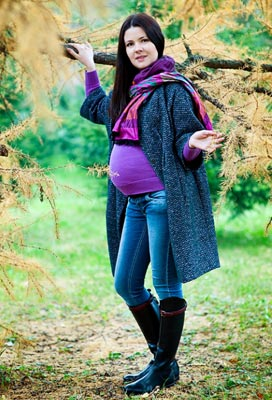 Осенняя мода для будущих мам