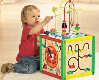 Игрушки для младенца от 6 до 9 месяцев